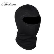 Мотоциклетная маска на лицо австралийская мериносовая шерсть Ветрозащитная Балаклава дышащие шарфы-кольца Солнцезащитная маска для сноубординга