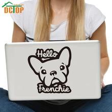 DCTOP New Arrival Hello Pet Dog Computer Sticker Vinyl Art Wall Stickers Home Decor Removable Waterproof Murals
