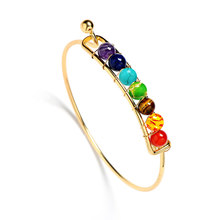 colorful beads Bracelet for Baby Women Handmade Jewelry Original Unique Fashion Adults Ambra Beads Bracelet/Anklets(China)