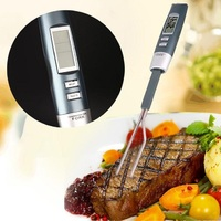 Cooking Digital Thermometer Electronic BBQ Barbecue Meat Food Probe LCD Digital Thermometer Fork