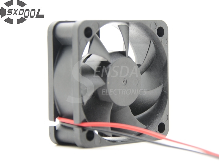 SXDOOL dc fan 5020 24V 0.13A SD5020S24M 50*50*20 mm 50X50X20 mm 50mm 5cm 2wire 2-Pin server inverter Cooling fan free shipping for sunon kde2406phs2 dc 24v 1 9w 2 wire 2 pin connector 60x60x15mm server square cooling fan