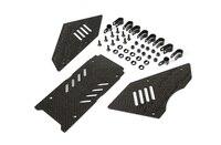 Carbon fiber car window kit for 1/5 hpi rovan km baja 5b rc car parts