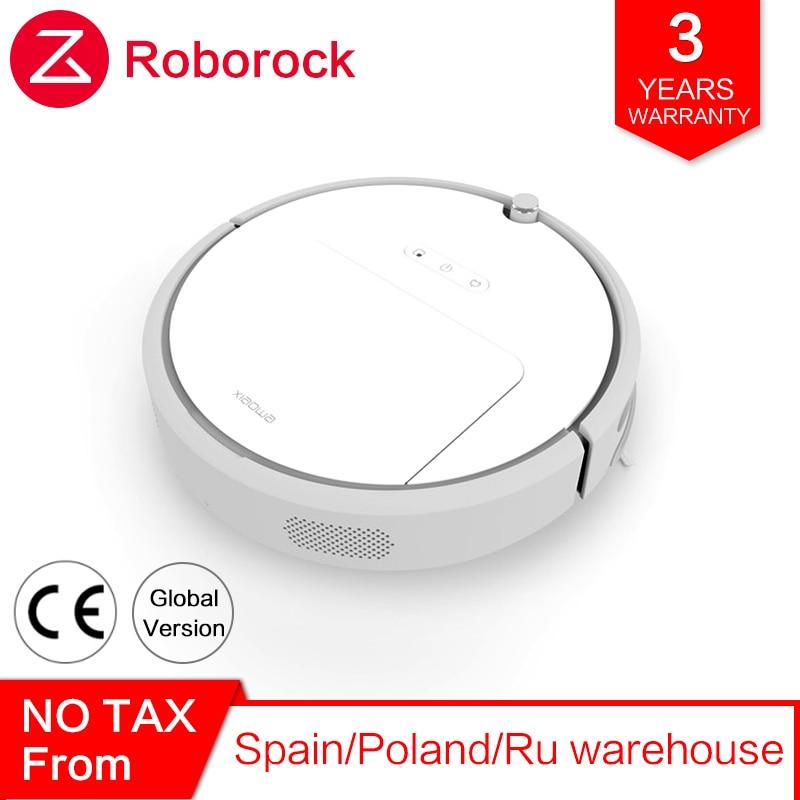 Mondiale Roborock Xiaowa robot aspirateur 3 Lite pour Xiao mi mi Maison mi JIA APP Automatique Intelligent Balayer La Poussière Sans Fil Contrôle