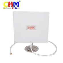 Усиления 14dbi направленного Панель Телевизионные антенны комплект для Wi-Fi маршрутизатор 14db + подставка держатель + кабель # lu17