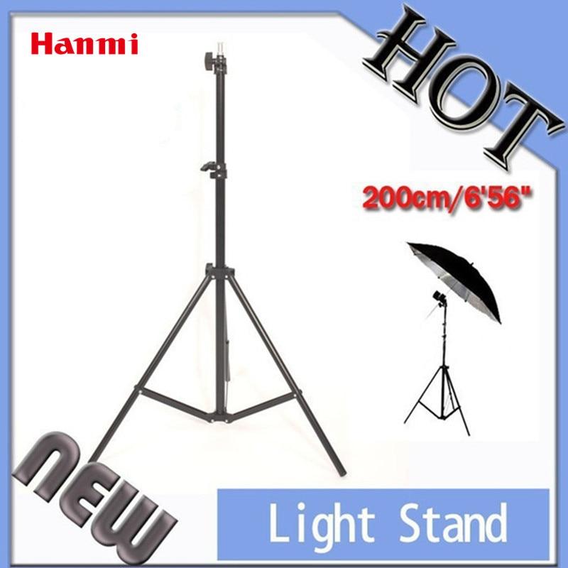 6'56 2 M 1/4 Universel Fotografia Lumière Stand Trépied Pour Photo Studio Video Eclairage 1/4 Vis Lumière Stand Photographie