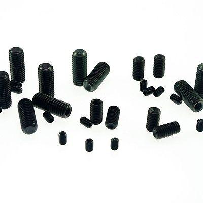 Lot25 M12x60mm Head Hex Socket Set Grub Screws Metric Threaded flat head
