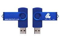 (100 шт) Leizhan OTG USB флэш-накопитель с 4 Гб 8 gb 16 gb 32 флэш в виде ключа флешки персональный логотип DIY дизайн логотипа
