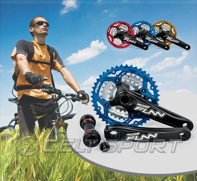 Mountain Bike Crankset >> Funn Mountain Bike Chainwheel Mtb Crankset Bicycle Accessories In