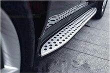 Автомобиль работает шаг в сторону доски Нерф Бар педаль для Benz W164 ML350 2006 2007 2008 2009 2010 2011 (OEM стиль) по FedEx