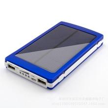 Solar Power Bank 30000mAh Dual USB Port Outdoor Waterproof Power Bank phone External Batte Solar Charger For Mobile Phones