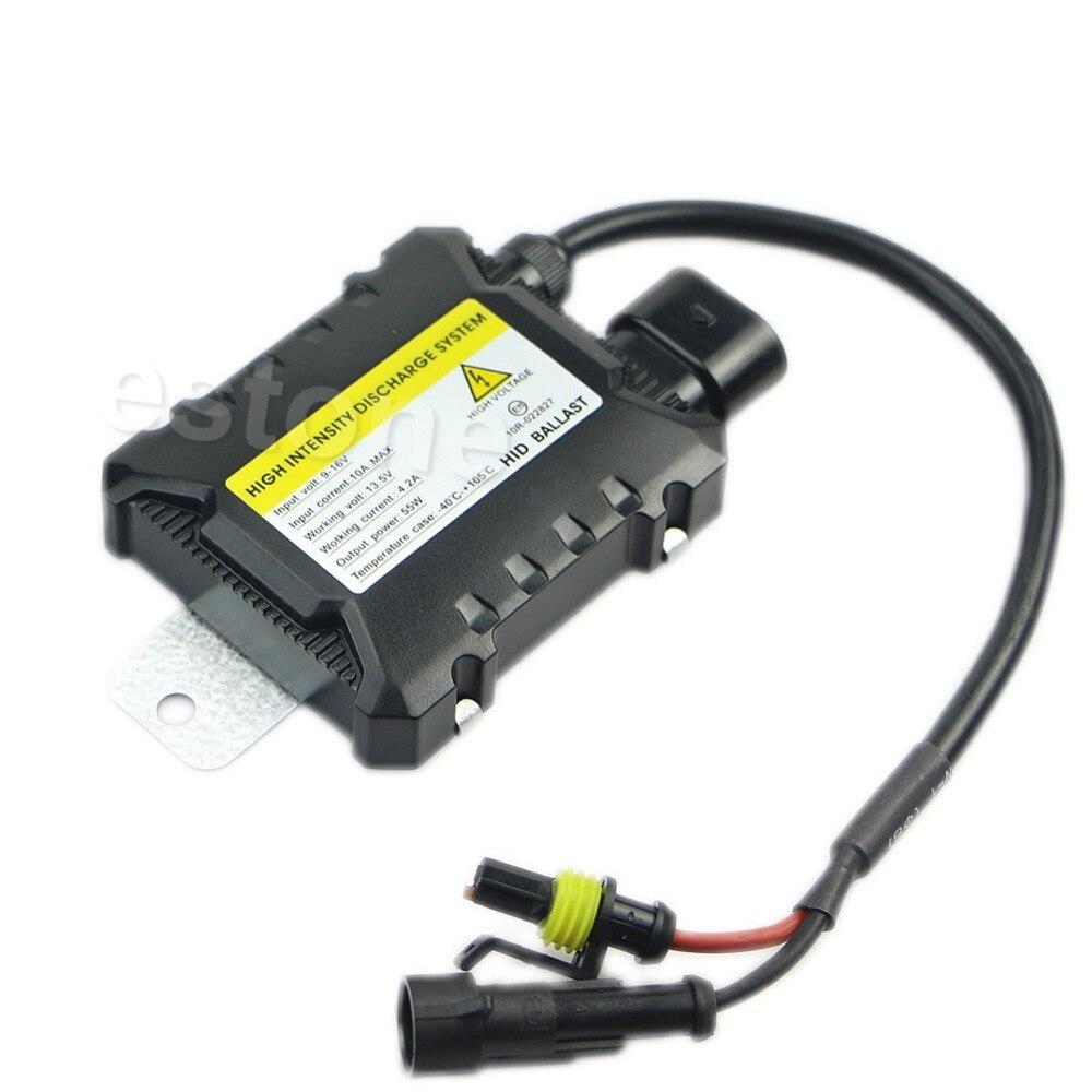Coche H7 H1 DC Lastre Electrónico 55 W Luz Ultra Delgado Xenon HID Kit Para Todo