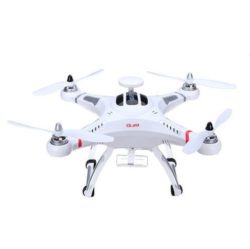 F08965 Original Cheerson CX-20 CX20 2.4GHz 4CH 6-axle Gyro RC Quadcopter with GPS Headless Mode Professional Drones CX20 RTF FS
