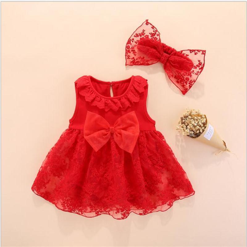 ee05caf7b6c9 baby girl summer clothes kids flower princess dress girl wedding ...