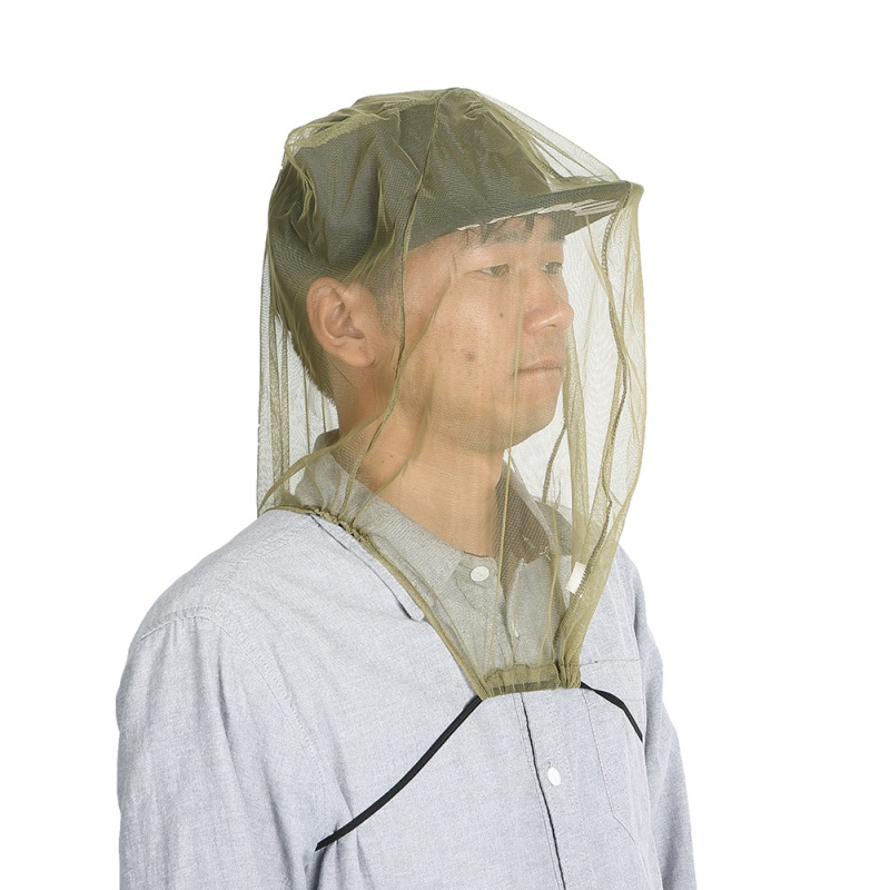 Keeping Insects Mosquito Mesh Net Prevention Fishing Hat Cap Mesh Cover Outdoor Sunshade Lone Neck Head Cover