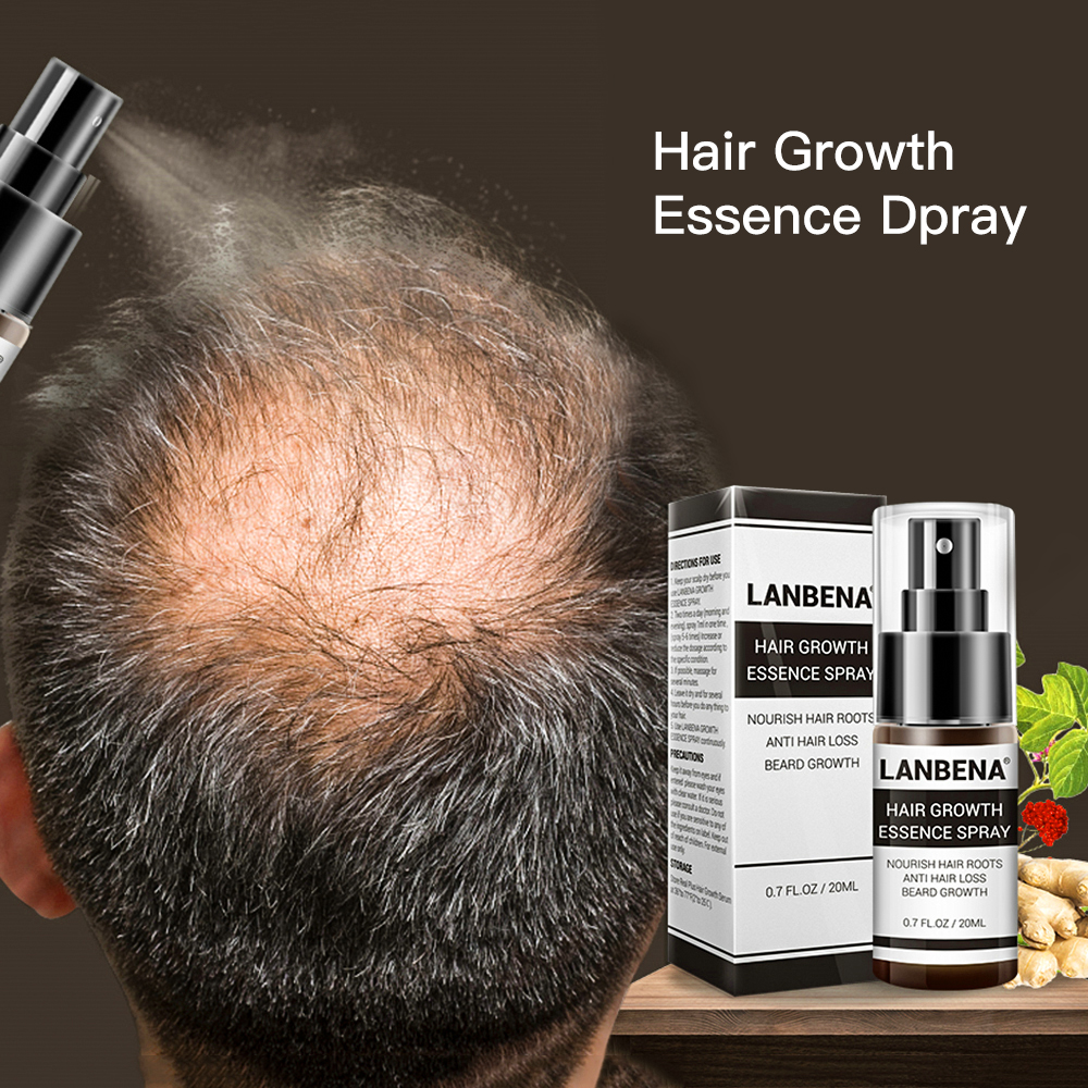 Hair Growth Essence Spray Product Preventing Baldness Consolidating Anti Hair Loss Nourish Roots Easy To Carry Hair Care Product Lahore
