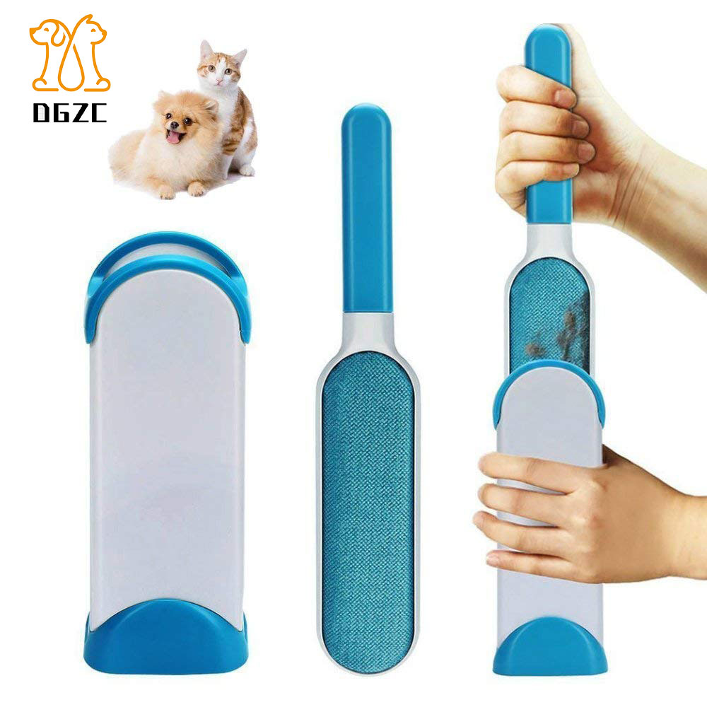 Sporting Pet Dog Combs Sponge Hair Remover Durable Sponge Brush Easy To Clean Cat Dogs Hair On Carpet Bed Sofa Dog Grooming Pet Products