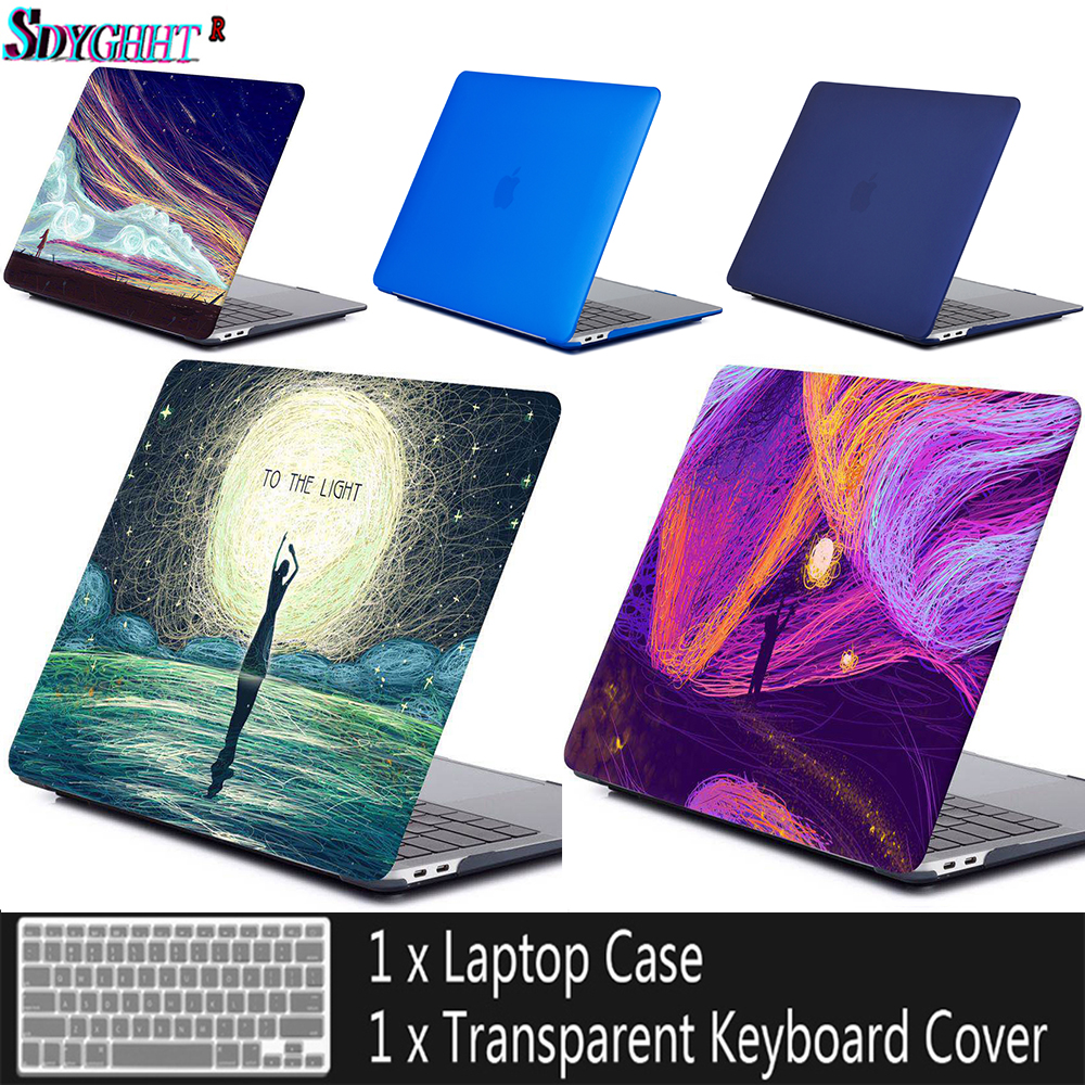 Best-selling global laptop case&shell for Apple macbook Air Pro Retina 11 12 13 15 For Mac book 13.3 inch with Touch Bar + Gift