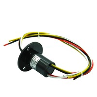 ZSR022 4R10A 4 Channel 10A Conductive Slip Ring Electrical Collection Capsule Slip Rings Brush Slip Ring