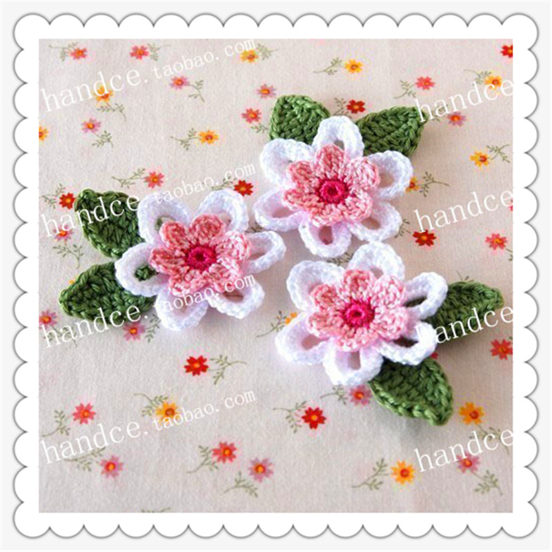 2016 new arrival 6 pic 100 natural cotton crochet guangzhou fabric 2016 new arrival 6 pic 100 natural cotton crochet guangzhou fabric lace flower with 3d stamens for wedding decoration artificail in artificial dried junglespirit Choice Image