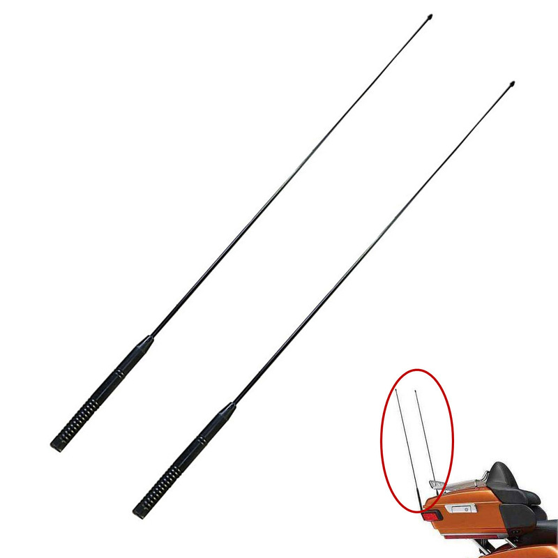 33inch Motorcycle AM FM Antenna Radio Antennas Signal Amplifier For Harley Electra Road Street Glide Tri