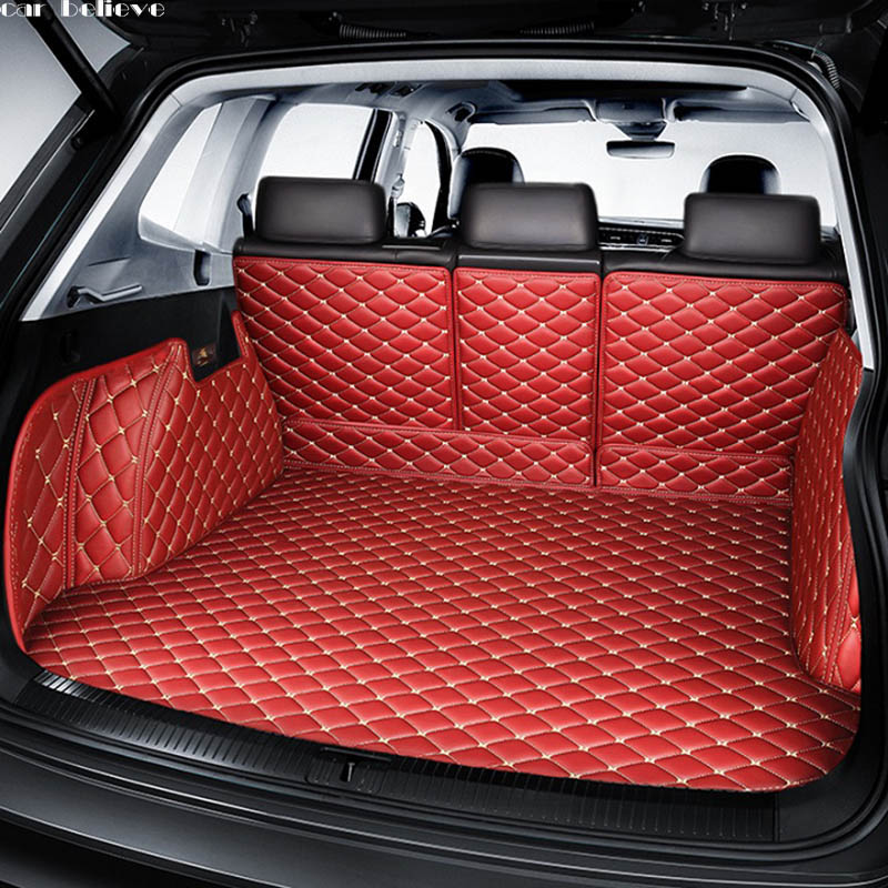Car Believe Car Trunk Mat For Bmw X3 E83 F15 Bmw X6 F16