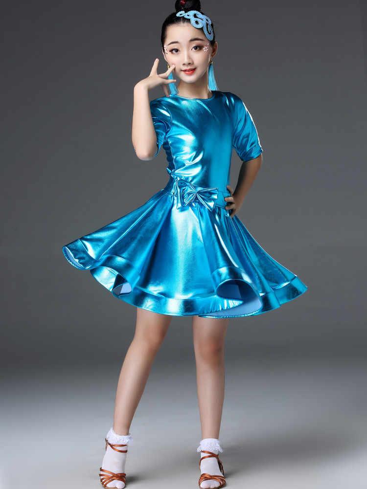 Latina vestido Samba Tango de competición vestidos de baile moderno salón de baile trajes para niñas rendimiento práctica vestido