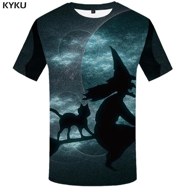 Skull, blood, T-shirt Men