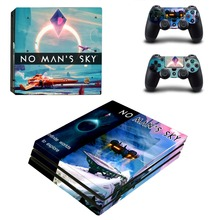 Game No Man's Sky PS4 Pro Skin Sticker Vinyl Decal