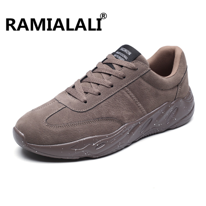 Ramialali New Arrival Men Sneakers Spring Autumn Sport Outdoor Breathable Walk Run Shoes For Male Athletic Cool Male Shoes