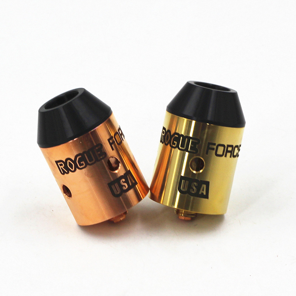 SXK Rogue Force 24mm RDA Rebuildable Dripping Dripper Atomizer Vaporizer Vapor Vape Mech DIY Tank