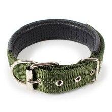 Мягкие нейлоновые воротники для собак, 4 цвета, Регулируемое спортивное ожерелье для маленьких и средних, большие домашние собаки XL001