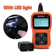 Z130 OBD2 Automotive Scanner OBD Car Diagnostic Tool in Russian Auto Code Reader Universal Scan Tool Better than AD310