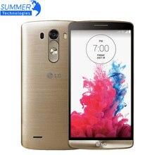 "Original Unlocked LG G3 D855 D850 Cell Phones 5.5"" Quad Core 3GB RAM 32GB ROM 13MP NFC Andriod Mobile Phone Refurbished"