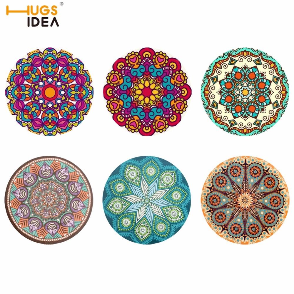 Hugsidea Creative 3d Mandala Floral