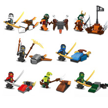 DLP9019 Ninja Spinjitzu Masters Bricks Toys Minifigures Building Block Toys Best Toys Compatible with Legoe