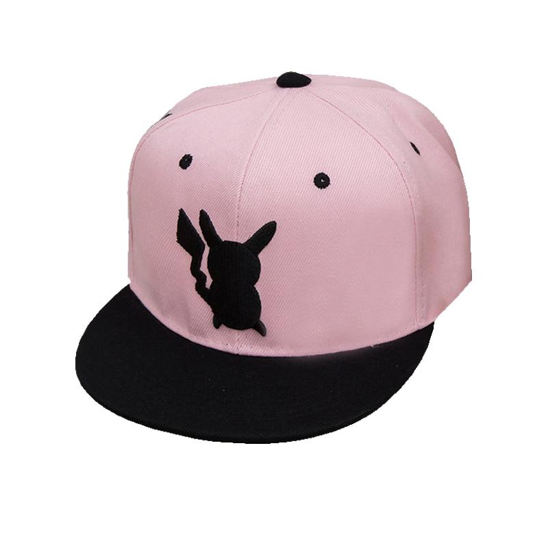 694659dcd8162 Pokemon Go Cosplay Cap Adult Kids Bone Masculino Hip Hop Dad Pikachu Pocket Hat  Drake Baseball Ash Ketchum Cap Snapback Gorro-in Baseball Caps from Apparel  ...