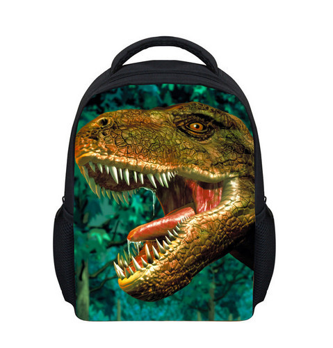 New Cool Children School Bags Kids Dinosaur