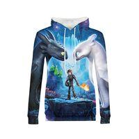 How To Train Your Dragon Warm Hoodies Sweatshirt Cartoon Women Hip Hop Funny Long Sleeve Pullovers Clothes Girls Autumn 2018