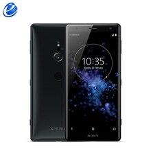 Смартфон sony Xperia XZ2 с двумя sim-картами H8296, разблокированный ОЗУ, 6 Гб ПЗУ, 64 ГБ, LTE, 5,7 дюйма, Android, четыре ядра, сканер отпечатков пальцев