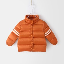 hot deal buy baby girl clothes 2018 new brand baby girls winter jacket warm outerwear down coats parkas kids winter jacket for boy 1-6 years