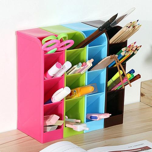 2016 New Compartment Storage Box Cosmetic Underwear Desk Bar Organizer Office Box 169WG07