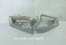 Par Limpar Lens Bumper Canto Refletor Para VW Passat CC 09 10 Euro Style 3C8807718/3C8807717,