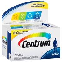 Centrum Ultra Men Multivitamin Multimineral Supplement 120 Pcs Free Shipping