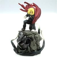 22cm Japanese Anime Fullmetal Alchemist Edward Elric Japanese figure action collectible model toys