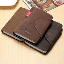 2019 New Hot Sale Vintage Slim Credit Card Holder Mini Wallet ID Case Purse Bag Pouch Artificial Leather Travel Wallet Pocket brand new slim credit card holder mini wallet mens leather id case coin purse bag pouch carteira masculina gift
