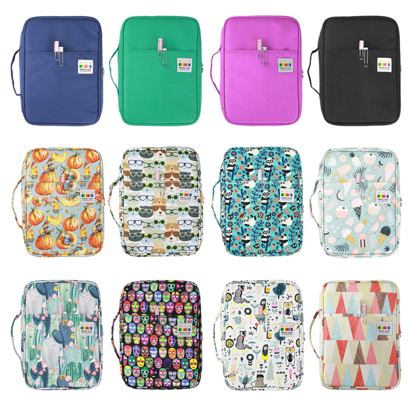 Image 5 - 216 Slots Large Capacity Pencil Bag Case Organizer Cosmetic Bag For Colored Pencil Watercolor Pen Markers Gel Pens Great Gifts-in Pencil Bags from Office & School Supplies