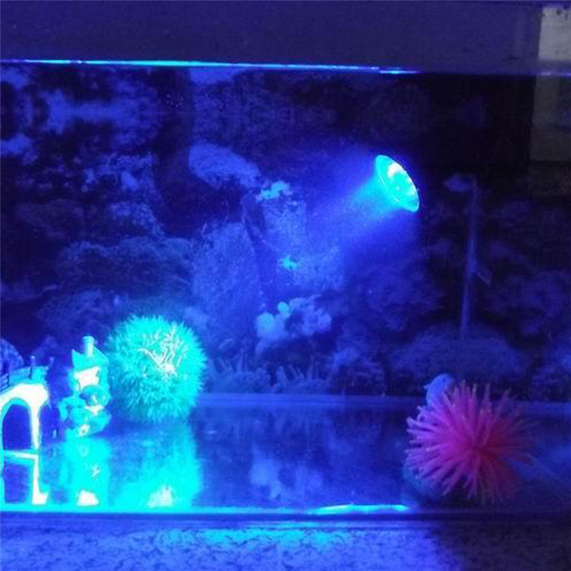 36LED Color Changing in sequence Submersible Aquarium Spot Light Fish Tank Garden Fountain Pool Landscape Lamp US Plug 2 Size