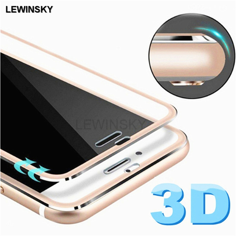 3D curved edge tempered glass for iPhone X 5 5S SE full case protective glass for iPhone 6 6S 7 8 plus screen protector film