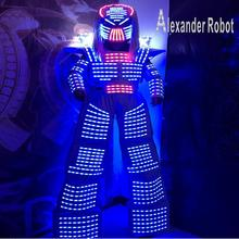 LED Robot suit Costume /LED Clothing/Light suits/ ALEXANDER  robot