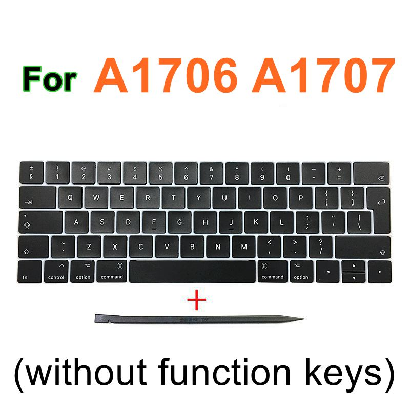 """Image 5 - Faishao New Full Set For Macbook Pro Retina 13""""15"""" A1706 A1707 A1708 2016 2017 12"""" A1534 2017 UK Keyboard Keycaps Key Cap-in Replacement Keyboards from Computer & Office on"""